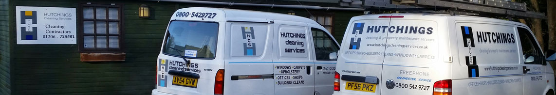 Hutchings Cleaning & Property Maintenance Services - Colchester, Essex
